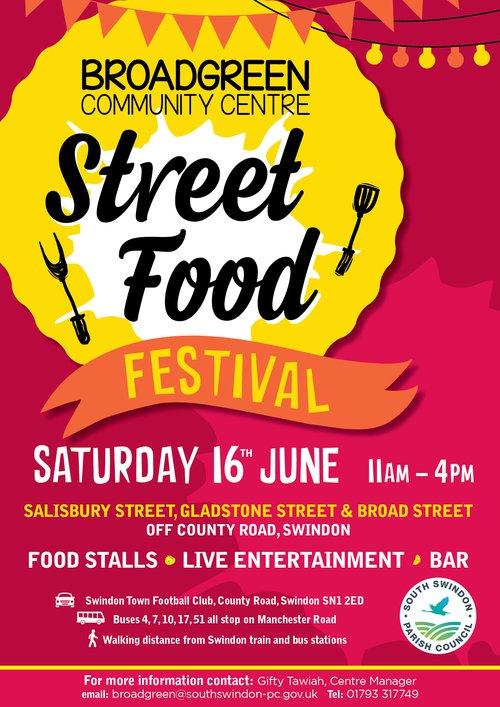 Broadgreen Street Food Festival 16th June 2018