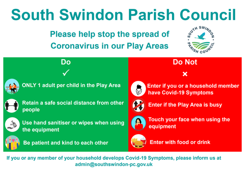 Covid-19 Play Area Use Guidelines