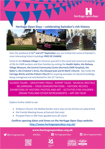 Heritage Open Day Flyer
